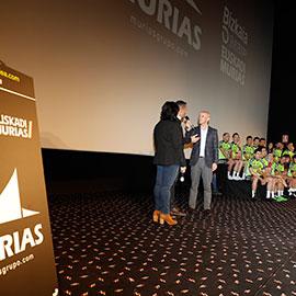 presentación Euskadi Murias - Bizkaia Durango Euskadi Murias
