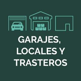 Garajes, locales y trasteros
