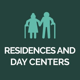 Residences and day centers