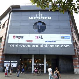 Centro Comercial Niessen en Errenteria